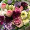 ★ピンク&パープル★シックな花束