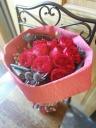お誕生日や記念日のプレゼントに大人気!赤バラの花束