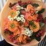 ビタミンカラーの花束☆オレンジ