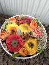 まあるいBOXにまあるいお花を集めました☆