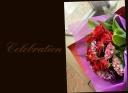 赤バラを使って おまかせ花束 24