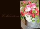 ピンク系 バラを使って アレンジメント 140