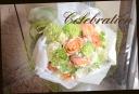 優しい色目にて おまかせ花束 35