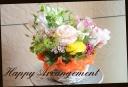 季節の花を使って おまかせアレンジメント 176