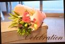 バラをメインに♪ ピンク系 花束 41