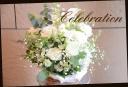 白・グリーン系 季節の花でおまかせアレンジ 186