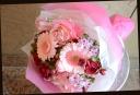 ピンク系 季節の花で おまかせ花束 48