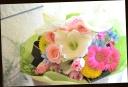 カラフルに♪季節の花束 49