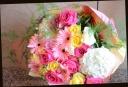 ピンク系 可愛く 季節の花束 54