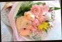 ピンク系 可愛く 季節の花束 61