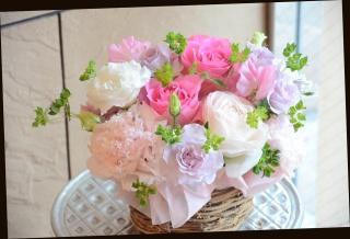 バラをメインに♪ ピンク系 アレンジメント 241