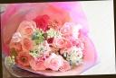 バラをメインに♪ ピンク系 爽やかな花束 64