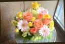 季節の花で パステル系 アレンジメント 268
