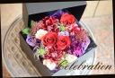 バラをメインに おまかせボックスアレンジ 465