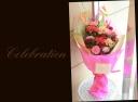 赤・ピンク系 季節の花束 86