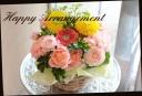 季節の花で おまかせアレンジメント 492