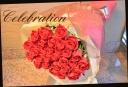 クリスマスギフト♪ 赤バラの花束 92