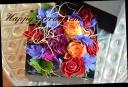 バラを使って 季節のボックスアレンジ 530