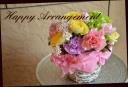 季節の花で 爽やかなアレンジメント 569