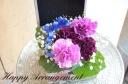 メモリーボックス 幸せの青い花 ホワイトローズ柄