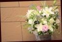 お悔やみの花に 季節のアレンジメント 599
