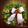 森林の香り♪フレッシュなクリスマスリース☆