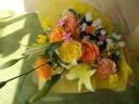 ビタミンカラー花束