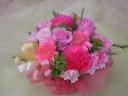pink arrange