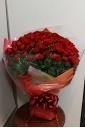 情熱の赤いバラ100本【花束】