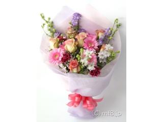 キャンディカラーの花束