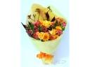 元気色のビタミンカラー花束