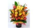 華やかな御祝のお花