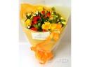 元気の出るビタミン色花束