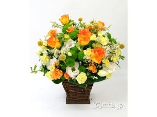 御祝のフラワーアレンジ(元気色)