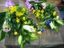 三好園のとっても豪華で長持ちの墓花一対セット