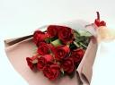 花束【スタンダードS020】赤バラの花束