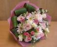 かわいい 『ピンク』 の花束です♪
