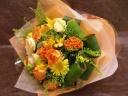 『幸せの・・・』 黄色い花束