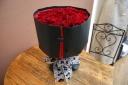 【赤いバラ・33本・ブラックSTYLE】