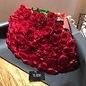 赤い薔薇100本の花束・2L