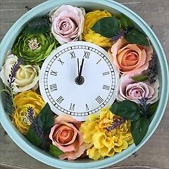 人生の節目には 花時計