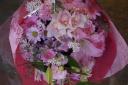 ピンク・パステル系花束