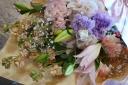 パステル調ボリューム花束