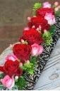赤バラのアレンジフラワー(クリスマス)