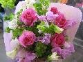 かわいい花束