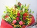◆ボリュームたっぷり!華やかな花束◆