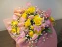ふわふわ、かわいい春の花束♪