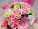 ◆おまかせキュートなピンク系ミニブーケ