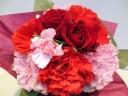 ◆おまかせオトナ可愛い赤系ミニブーケ