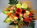 元気カラーの花束